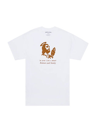 Fucking Awesome Science and Sanit Tshirt Wht