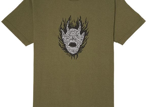 Spitfire Fiend Tshirt Grn