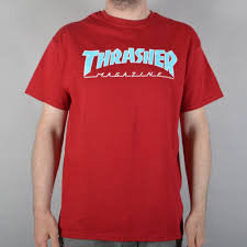 Thrasher Outlined Tshirt Crd