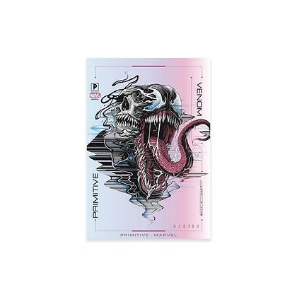 Primitive X Marvel Venom Foil Sticker