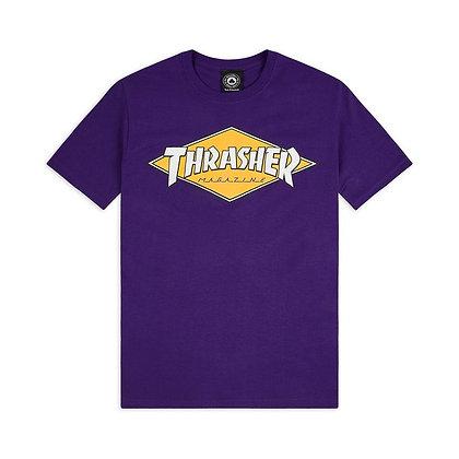 Thrasher Daimond Logo Tshirt Prp