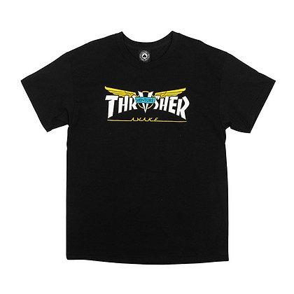 Thrasher X Venture Tshirt Blk