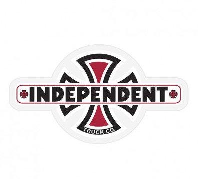 Independent Vintage BC Sticker 11cm