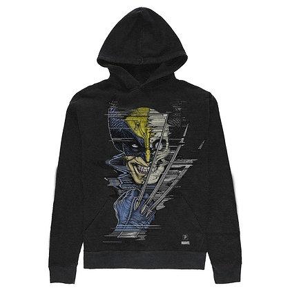 Primitive X Marvel Wolverine Oversized Hood Blk