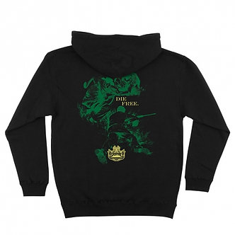 Creature Fish and Game Hood blk