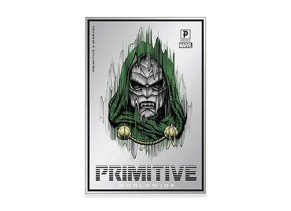 Primitive X Marvel Doctor Doom Foil Sticker