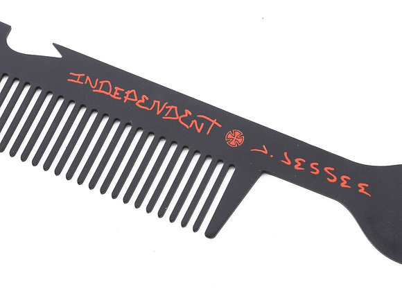 Independent jason jessee man club comb tool nickel