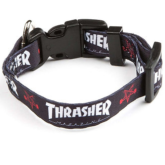 Thrasher Dog Collar blk