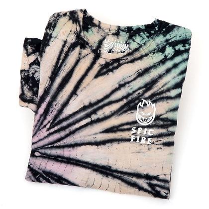 Spitfire Steady Rockin Over Dye Washed Tshirt