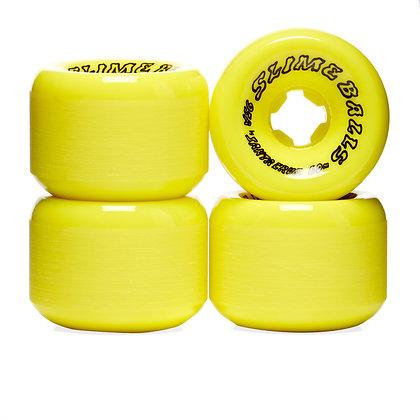 Santa Cruz 60mm 95A Scudwads Vomits Neon Yellow