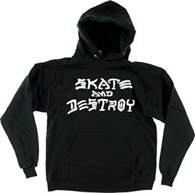 Thrasher Skate and Destroy Hood Blk