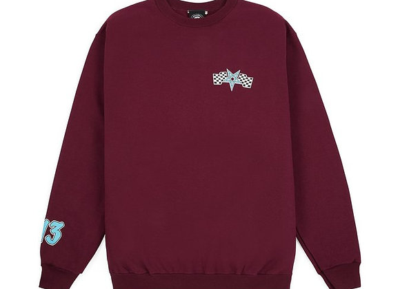 Thrasher Racing Crewneck Mrn