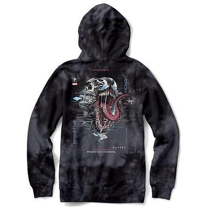 Primitive X Marvel Venom Washed Hood Blk