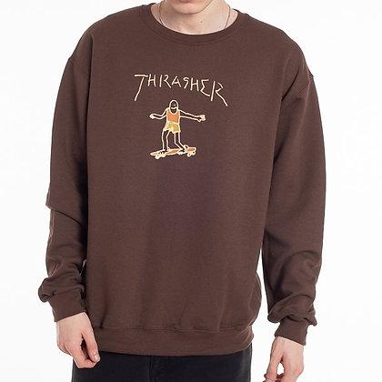 Thrasher Gonz Logo Crewneck
