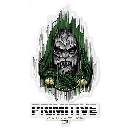 Primitive X Marvel Doctor Doom Die Cut Sticker