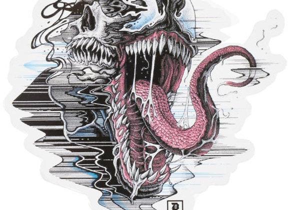 Primitive X Marvel Venom Die Cut Sticker