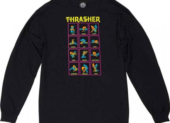 Thrasher Light Long/sleeve blk