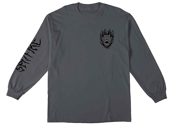 Spitfire Fiend Long/sleeve gry