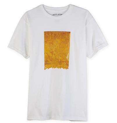 Fucking Awesome Gold Hieroglyphic Tshirt Wht