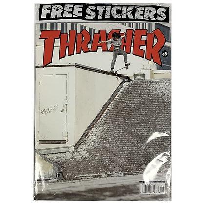 Thrasher Magazine Octubre 2021