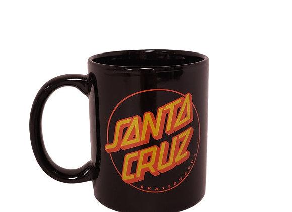 Santa Cruz Classic Dot Mug Black11
