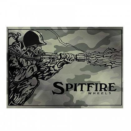 SPITFIRE Flame Thrower Camo Sticker 14.5 x 10.5.
