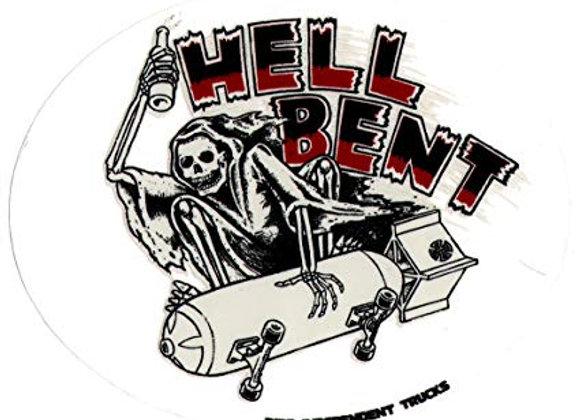 Independent 10x13cm Hell Bent sticker