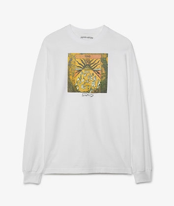Fucking Awesome Time Shirt LS Wht