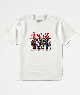 Primitive X Naruto Leaf Village T-shirt wht