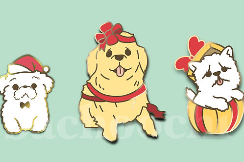 [PREORDER] 🎁 Holiday Dogs