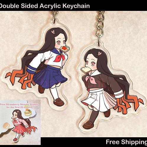 Chikoku Chikoku Acrylic Keychain