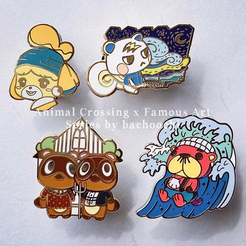 Animal Crossing x Famous Art [Full Set]