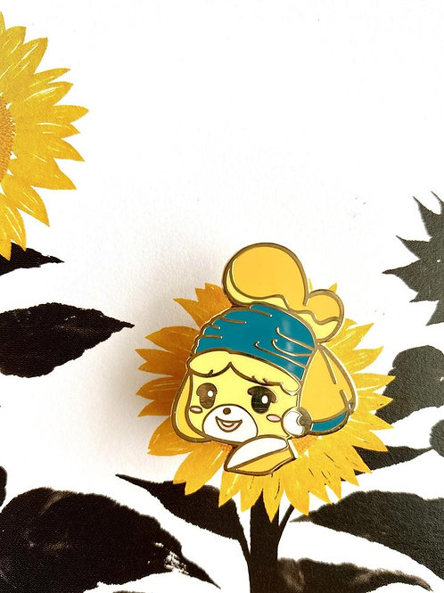 Animal Crossing x Famous Art [Isabelle]
