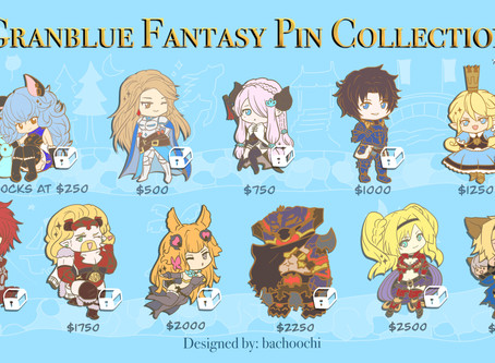 Granblue Pins- Behind the Scenes