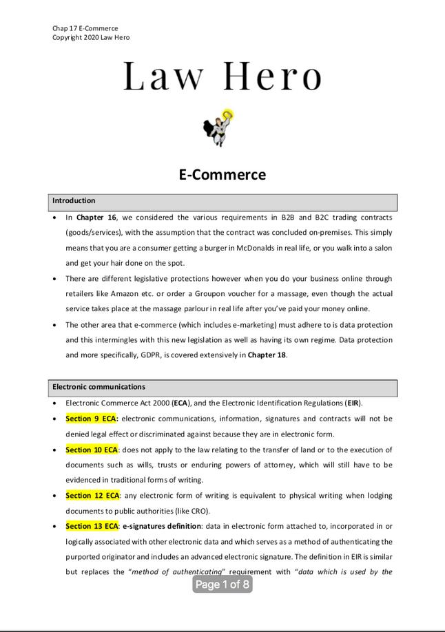 Chap 17 E-Commerce