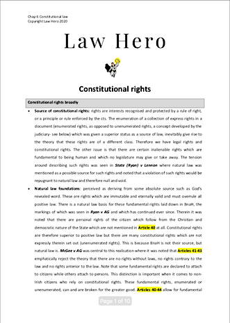 Chap 6 Constitutional Rights