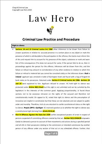 Criminal Procedure
