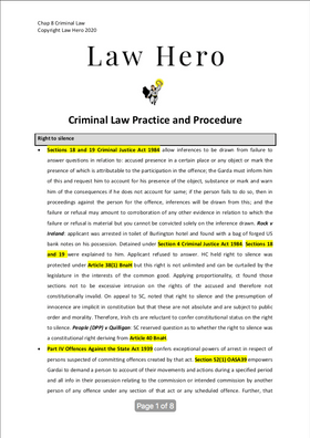 Chap 8 Criminal Law Practice and Procedure