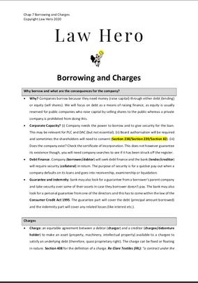 Chap 7 Commercial Borrowing