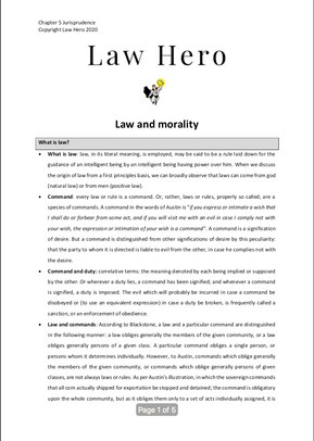 Chapter 5 Law and morality