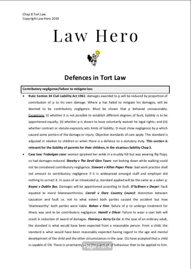 8 TORT Defences.png