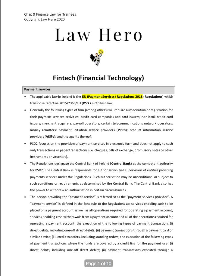 Chap 9 Financial technology