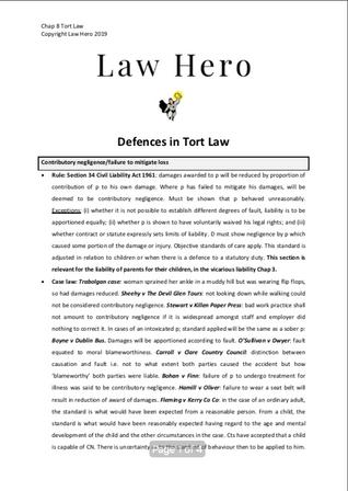 Chap 8 Defences