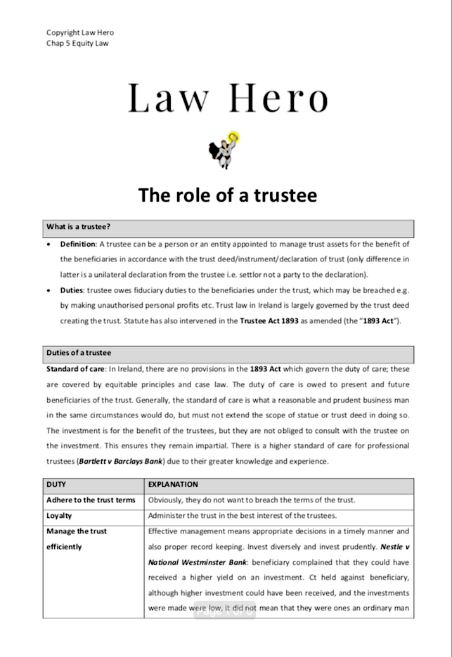 Chap 5 Role of Trustees