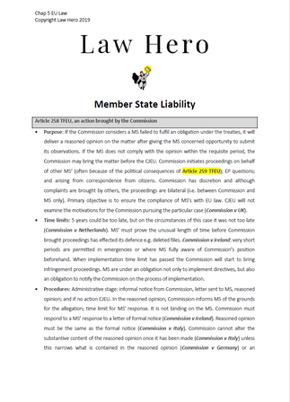 Member state liability