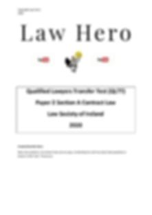 Contract law qltt 2020 screenshot.png