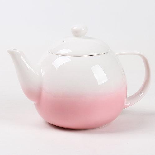 Théière en porcelaine rose «Dawn»