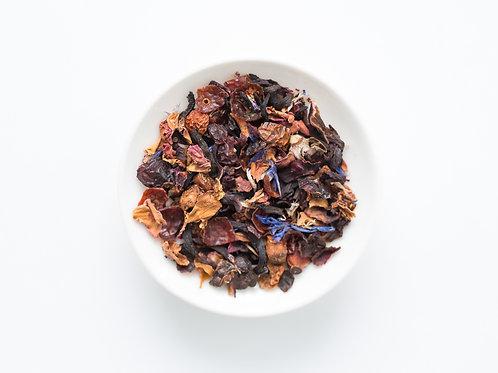 Tisane aux fraises et hibiscus (100 g)