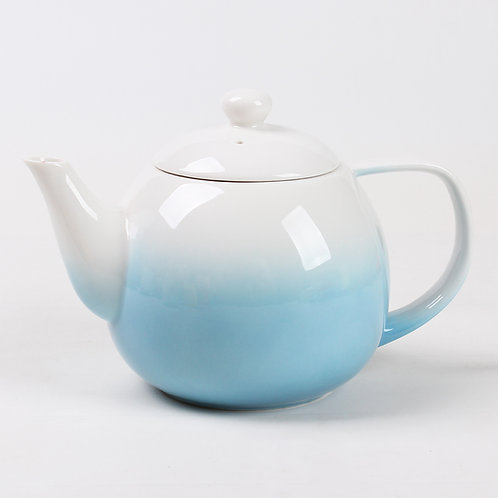 Blue Dawn Porcelain Teapot