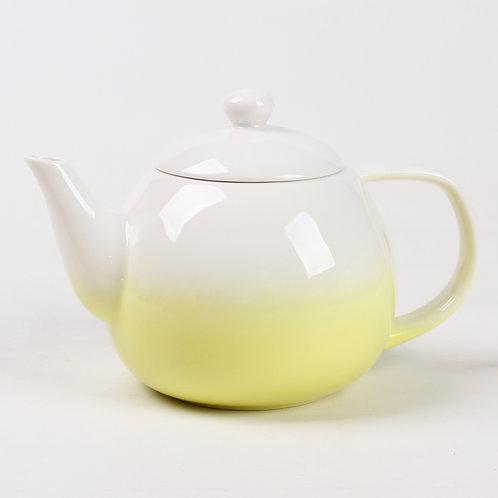 Théière en porcelaine jaune «Dawn»